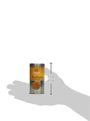 Sonnentor Kurkuma gemahlen Streudose, 1er Pack (1 x 40 g) - Bio - 4