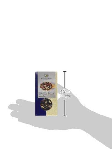 Sonnentor Pfeffer bunt ganz, 1er Pack (1 x 35 g) - Bio - 4