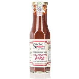 Stebi`s Paleo Sauce No.6 - BBQ Chili Sauce - Grillmeisters Fire (100 % Natürlich) - 1