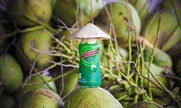 TASTE NIRVANA Real Coconut Water PURE - Premium Kokoswasser ohne Fruchtfleisch (Set: 12 Flaschen x 280ml) aus Thailands erntefrischen jungen Nam Hom Kokosnüssen - 2