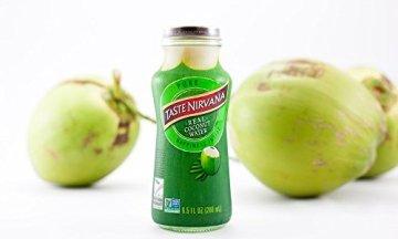 TASTE NIRVANA Real Coconut Water PURE - Premium Kokoswasser ohne Fruchtfleisch (Set: 12 Flaschen x 280ml) aus Thailands erntefrischen jungen Nam Hom Kokosnüssen - 3