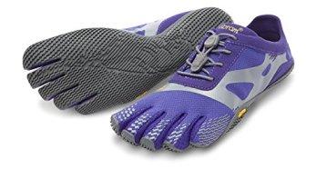 Vibram Five Fingers - KSO EVO (Damen) - Zehenschuhe - Purple/Grey Größe: 40 - 1