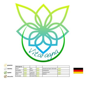 VITARAGNA Eden Active Kreatin Plus 250 Kapseln, reines, hochwertiges Creatin Monohydrat bzw. Creatine Monohydrate, Kraftsteigerung & Muskelaufbau, clean - 6