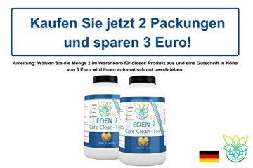 VITARAGNA Eden Care Clean-Tox Aktiv Plus 60 Kapseln Detox Complex, vegan, mit Coenzym-Q10, Mariendistelöl, Rosmarinextrakt, Entgiftungskur zum Abnehmen in der Diät - 5