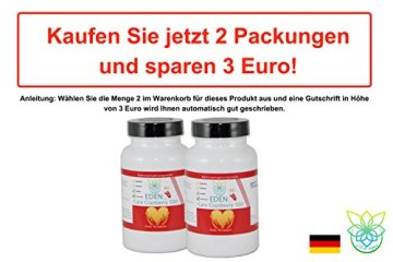VITARAGNA Eden Care Cranberry 500 90 Kapseln, 500 mg Cranberry Konzentrat hochdosiert, Blase & Nieren stärken, Immunsystem stärken - 5