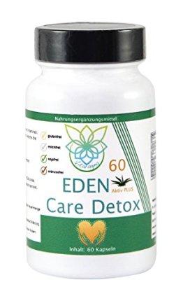 VITARAGNA Eden Care Detox Aktiv Plus 60 Kapseln Complex mit Coenzym-Q10, cleanse und vegan, Entgiftungskur, Entgiftung, Darmreinigung, Leberreinigung, Abnehmen in der Diät - 1