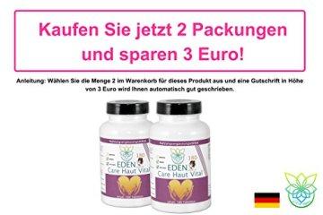 VITARAGNA Eden Care Haut Vital Komplex 180 Tabletten mit Hirse und Biotin für eine gesunde Hautpflege, Haut-Vitalstoffe und Haut-Vitamine als Haut-Kur, hochdosiert - 5