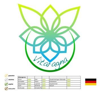 VITARAGNA Gamma Energy Guarana + Koffein 100 Kapseln, Energie-Booster für mehr Wachheit, Aufmerksamkeit, Leistung, Fokus und Aktivität. Energybooster pur, clean - 6