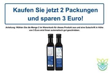 VITARAGNA Omega 3 Fischöl (Lachsöl) mit Zitronenöl und Rosmarin-Extrakt, 250ml, mit natürlichem Vitamin E-Tocopherol-Komplex, Hoher EPA und DHA Anteil - 5