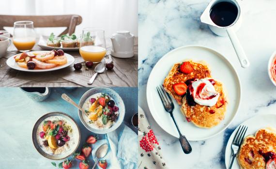 10 idėjų lengvai pagaminamiems pusryčiams