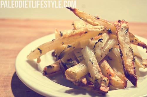 Paleo fries