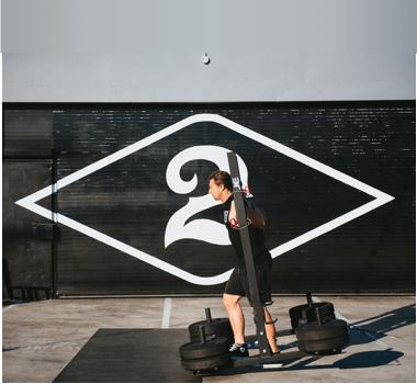 Logan Gelbrich Deuce Gym Venice California