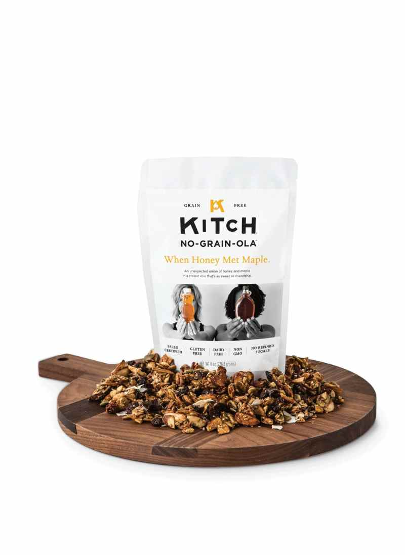 KITCHUN when honey met maple granola