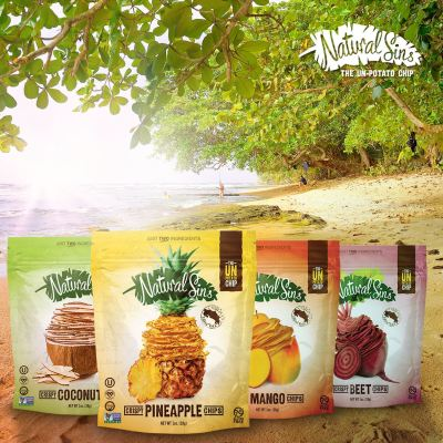 Natural Sins - Why switch from the famed potato chip? There are only two ingredients in every bag of Natural Sins, so each chip is full of incredible flavor and is more nutritious than the average snack. This full-sensory snacking sensation crunches like a chip without a crumb of regret. #paleo #paleofriendly #paleovegan