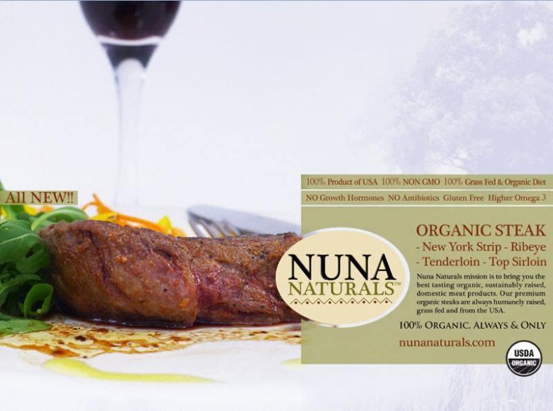 Nuna Naturals Organic Certified Paleo cold cuts