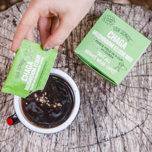 Chaga Mushroom Elixir - Four Sigmatic - Certified Paleo, PaleoVegan, KETO Certified - Paleo Foundation
