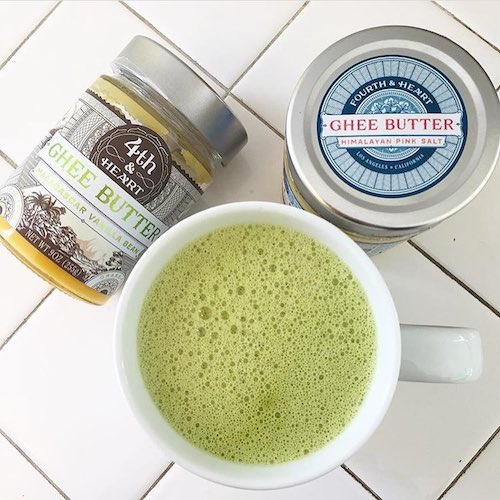 Ghee Coffee - 4th & Heart Grassfed Ghee - Certified Paleo, KETO Certified - Paleo Foundation