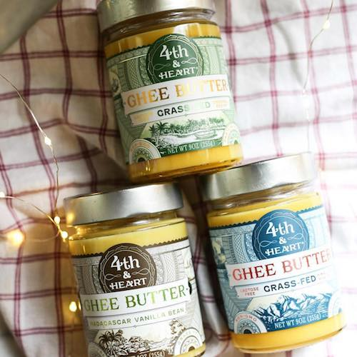 Ghee Lineup - 4th & Heart Grassfed Ghee - Certified Paleo, KETO Certified - Paleo Foundation