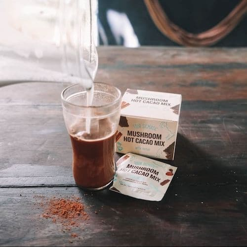 Mushroom Cocoa Mix with Reishi - Four Sigmatic - Certified Paleo, PaleoVegan, KETO Certified - Paleo Foundation