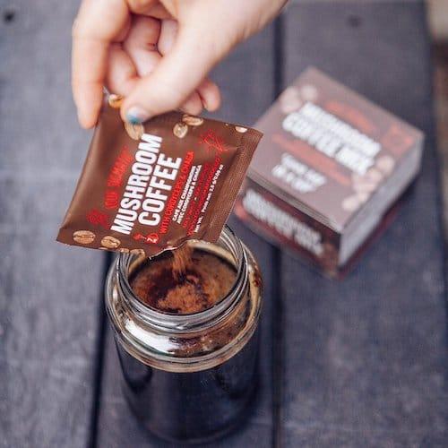 Mushroom Coffee with Cordyceps - Four Sigmatic - Certified Paleo, PaleoVegan, KETO Certified - Paleo Foundation