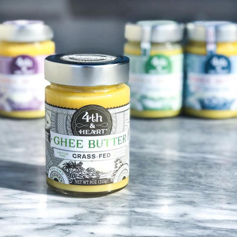 Original Ghee - 4th & Heart - Certified Paleo, KETO Certified - Paleo Foundation
