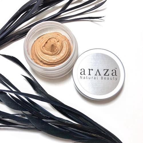7-1 Coconut Cream Foundation 1 - Araza Beauty - Certified Paleo, PaleoVegan - Paleo Foundation