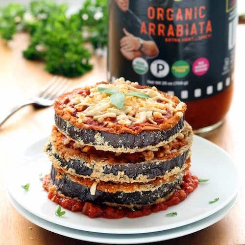 Arrabiata Sauce + Eggplant - Uncle Steve's Italian Specialties - Certifed Paleo, Paleo Vegan - Paleo Foundation