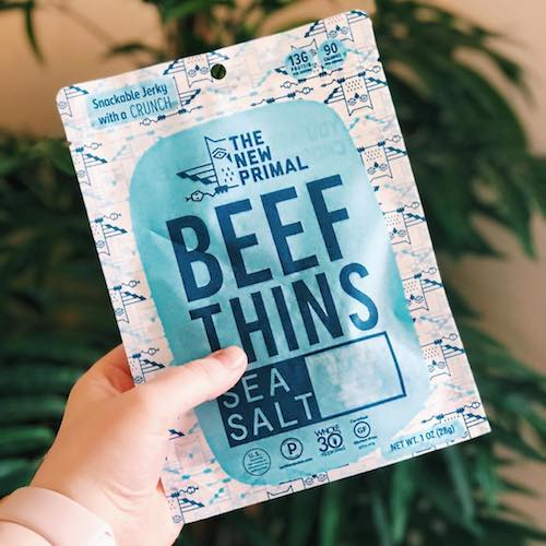 Beef Thins - The New Primal - Certified Paleo, Keto Certified - Paleo Foundation