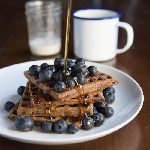 Blueberry & Waffles 2 - Kitchfix - Certified Paleo - Paleo Foundation