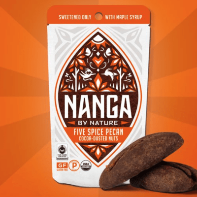 Certified Paleo Five Spice Pecan Cocoa Dusted Nuts by Nanga By Nature