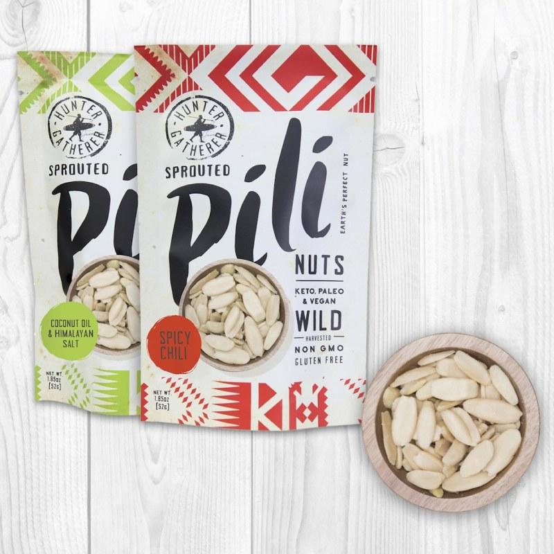 Coconut Oil & Himalayan Salt + Spicy Chili - Pili Hunters - Certified Paleo, KETO Certified, PaleoVegan - Paleo Foundation