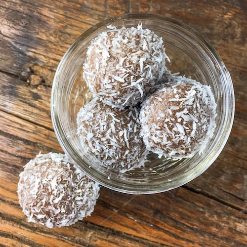 Coconut Pecan Balls - Purely Pecans - Certified Paleo, Keto Certified, Paleo Vegan - Paleo Foundation