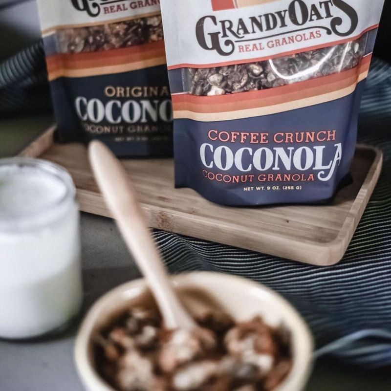 Coffee & Original Coconola - GrandyOats - Certified Paleo - Paleo Foundation