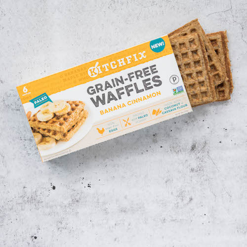 Frozen Grain-free Waffles - Kitchfix - Certified Paleo - Paleo Foundation