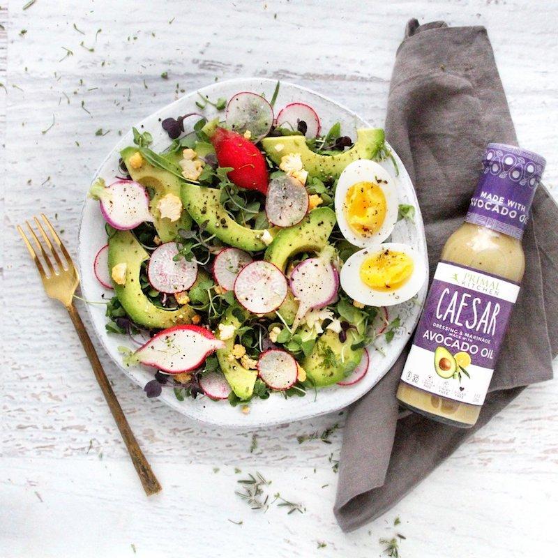 Grain-free Dairy Free Soy Free Caesar Salad Dressing