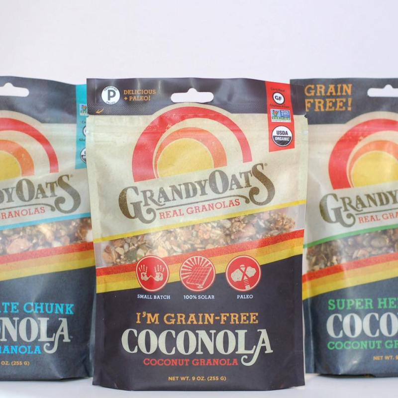 Grandy Oats Certified Paleo Coconut Granola