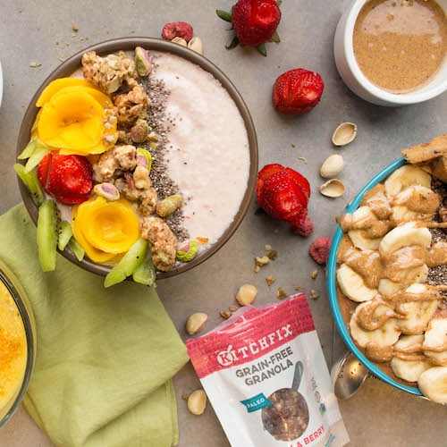 Granola & Smoothie Bowls - Kitchfix - Certified Paleo - Paleo Foundation