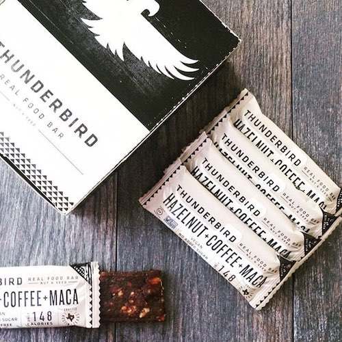 Hazelnut + Coffee + Maca - Thunderbird Bars - Certified Paleo, PaleoVegan - Paleo Foundation