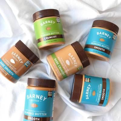 Lineup Almond Butter 2 - Barney Butter - Certified Paleo, Paleo Vegan - Paleo Foundation
