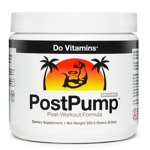 PostPump - Do Vitamins - Paleo Friendly, PaleoVegan, KETO Certified - Paleo Foundation