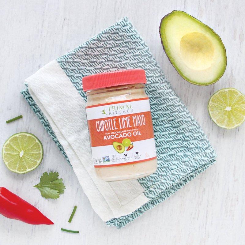 Primal Kitchen Chipotle Lime Sugar Free Mayo Certified Grain Free Gluten Free
