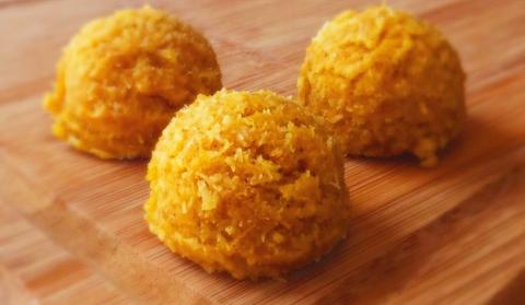 Pumpkin - Paleo Angel - Power Balls are a delicious Paleo & Autoimmune Protocol SUPER FOOD designed to fuel and nourish the body. The Balls are made of the highest-quality ingredients but are low on the glycemic index. #paleo #certifiedpaleo #aip