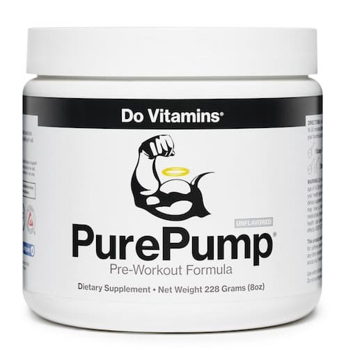 PurePump - Do Vitamins - Paleo Friendly, PaleoVegan, KETO Certified - Paleo Foundation