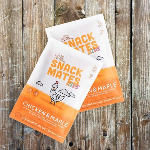 Snack Mates Chicken Maple - The New Primal - Certified Paleo, KETO Certified - Paleo Foundation