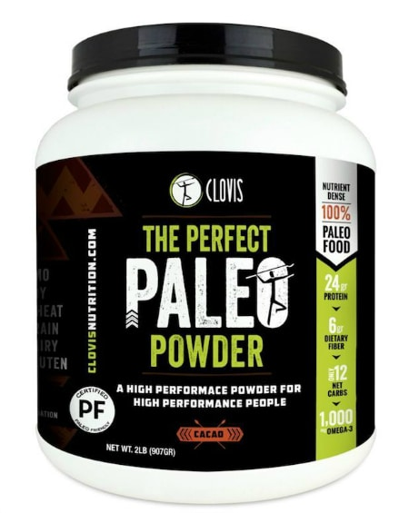 Clovis Nutrition the perfect paleo powder