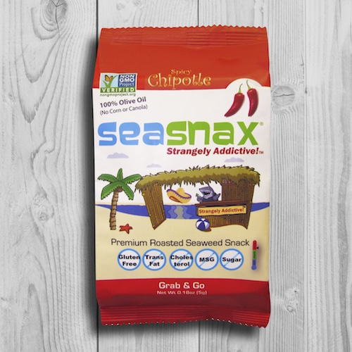 Chiptole Grab & GO - SeaSnax - Certified Paleo, PaleoVegan, Whole30, AIP - Paleo Foundation