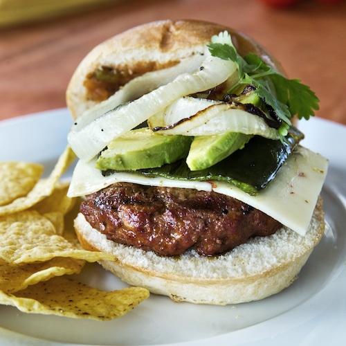 Chorizo Burger - Mulay's - Certified Paleo - paleo foundation - paleo diet - paleo lifestyle