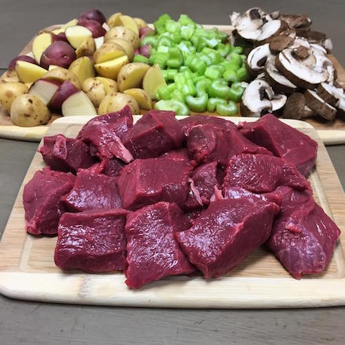 Grass-fed Beef + Veggies - Panorama Meats - Certified Paleo, Paleo Approved - Paleo Foundation
