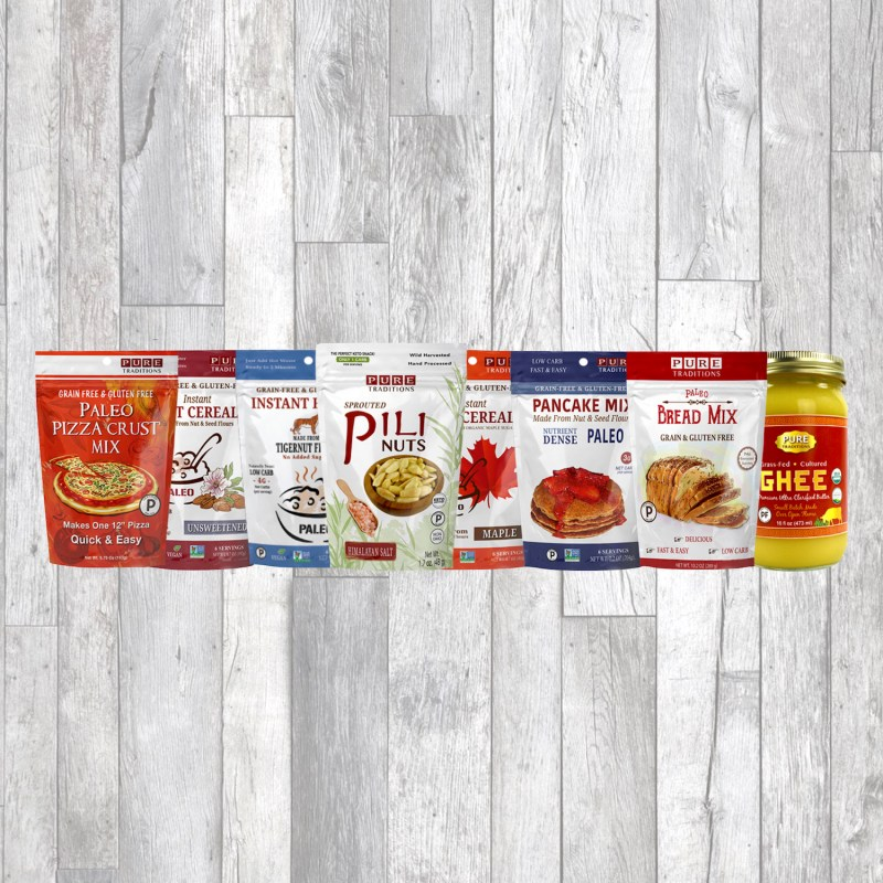 Lineup - Pure Traditions - Certified Paleo, KETO Certified by the Paleo Foundation