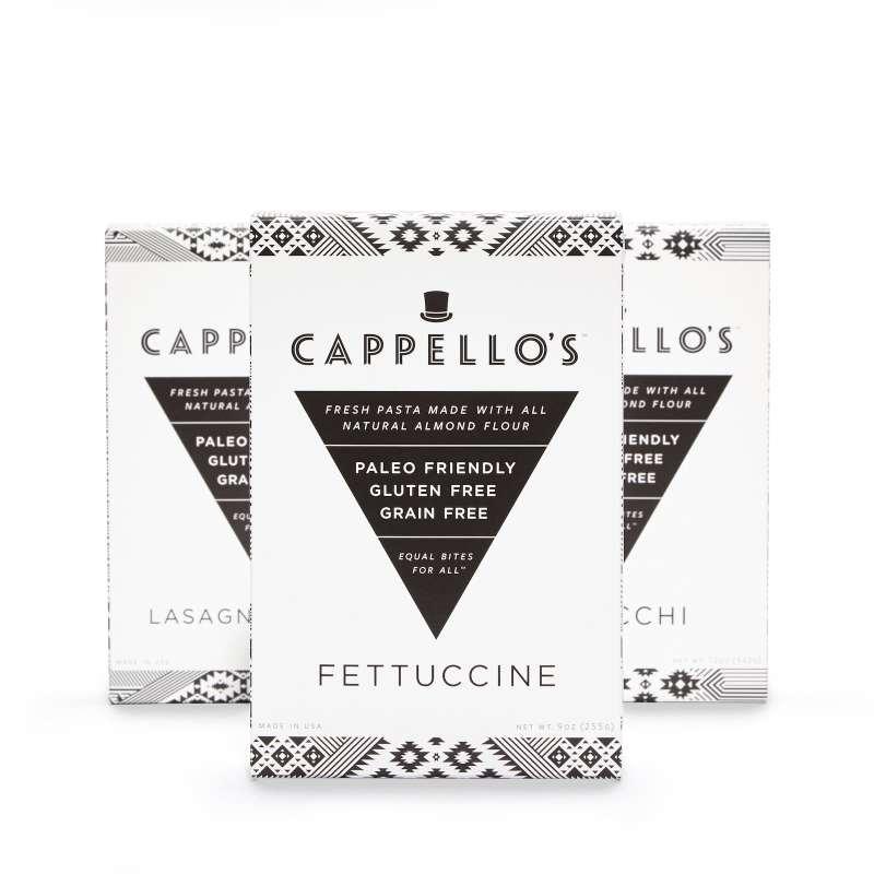 Lineup Fettucine 1st - Cappello's - Certified Paleo - Paleo Foundation